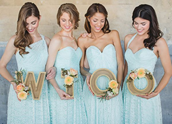 Wtoo bridesmaid dresses